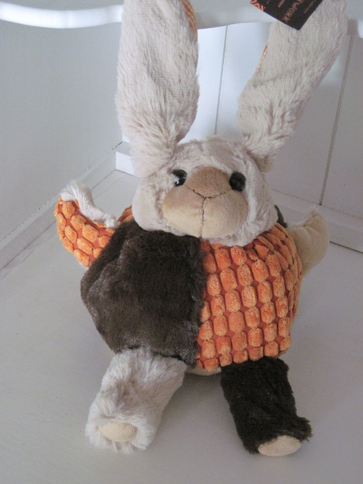 Peluche Lapin Patchwork